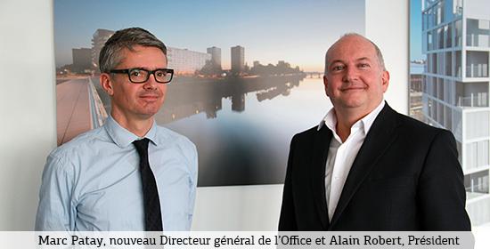 Marc Patay, nouveau DG de Nantes Métropole Habitat