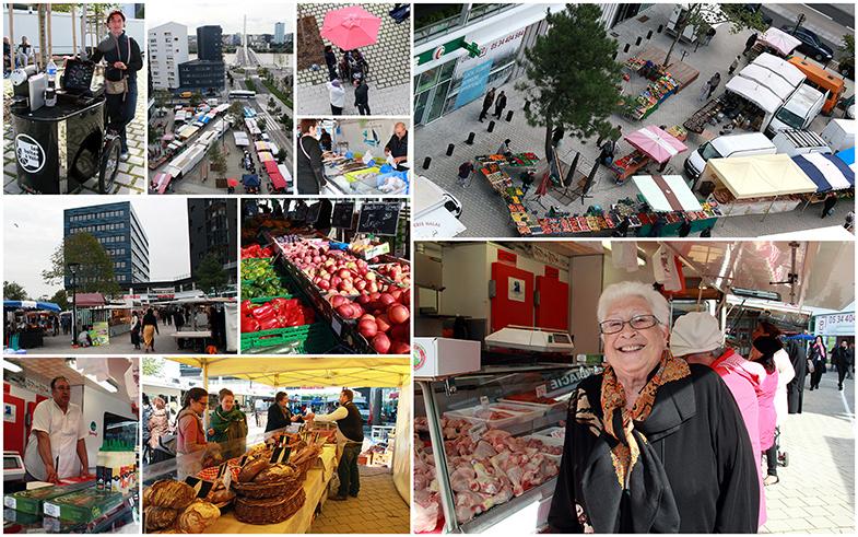 Jeudi 17 septembre 2015 - Ouverture du marché Rosa Parks à Malakoff