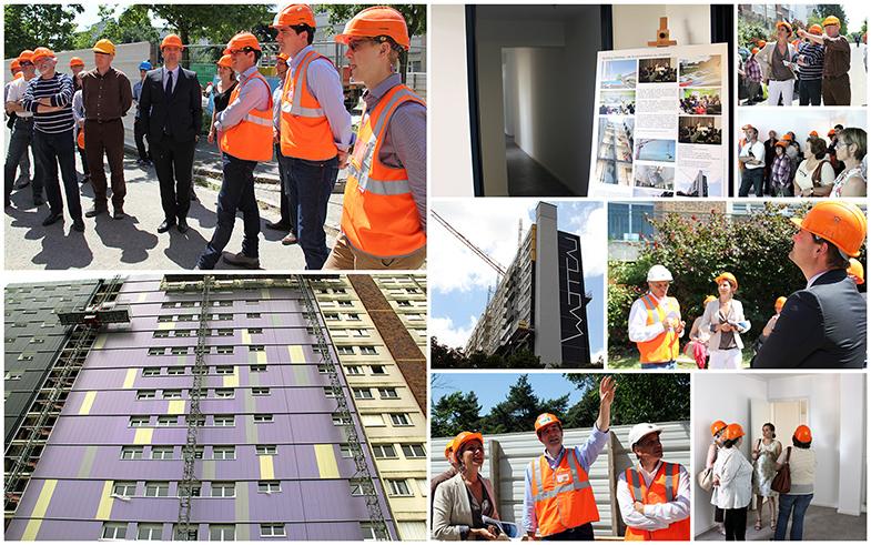 Semaine nationale des Hlm - Visite du Building Watteau